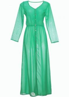 Mint Georgette Swim Cover Up - Moods / Swim - The Closet Label #3OtherThings #Fashion #Dress