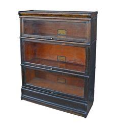 Oak Globe Wernicke Barrister's Bookcase c1930 | Rejuvenation