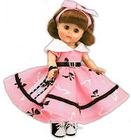 """Ginny doll from the late 50's...My sister and I had one, i still have mine...BTW, what is a """"Ginny"""" doll anyway?"""