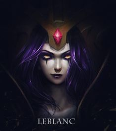 LeBlanc :: League of Legends Such an evil champ! Who is she and what are her goals!??