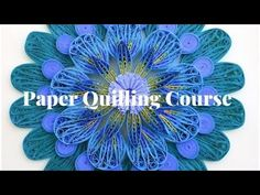 Trupti's Craft: Paper Quilling Course on Udemy.com Quilling Comb, Paper Quilling Tutorial, Flower Pots, Flowers, Paper Strips, Basic Shapes, Fine Motor Skills, Jewelry Making, Crafts