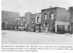 paradise street bermondsey | Paradise Street in Buildings Victorian London, Vintage London, Old London, Bermondsey London, London History, London Pictures, My Family History, London Places, South London