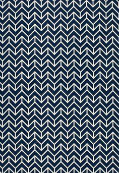 Schumacher Chevron Fabric