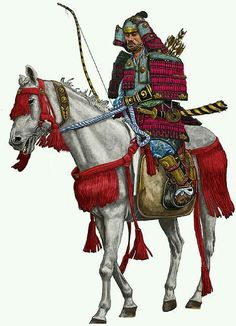 Mounted Samurai Arcieri Figurine