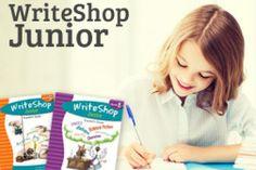 WriteShop Junior is a fun, creative homeschool writing program for 3rd, 4th, 5th, & 6th grade that teaches elementary fiction, nonfiction, and genre.