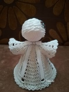 Crochet Angels, Crochet Hats, Mosaic, Christmas, Decor, Ganchillo, Yule, Decoration, Xmas