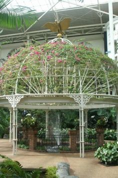 One of my favorite parts of the Opryland hotel