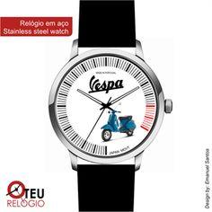 Mostrar detalhes para Relógio de pulso OTR VESPA MOTO 010
