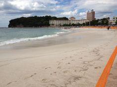 2012/08/10 白良浜, 南紀白浜, 和歌山県 / Shirarahama Beach, Nanki Shirahama, Wakayama Urban, Beach, Water, Outdoor, Gripe Water, Outdoors, The Beach, Beaches, Outdoor Games