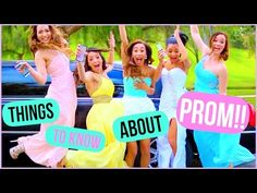 Things to Know About Prom! DIY Accessories, Essentials + Dress Ideas! - YouTube