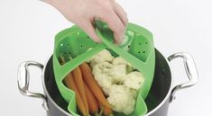 OXO Silicone Vegetable Steamer - 15 Best Kitchen Gadgets You Need In Your Life