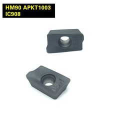 Milling cutters HM90 APKT1003 PDR IC 908 Carbide Insert Lathe Milling Mill CNC tools APKT 1003