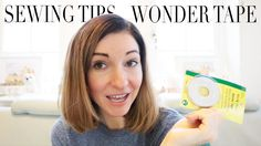 Sewing Tips: Wonder Tape | Hemming, Zipper and More | Szilvia Bodi