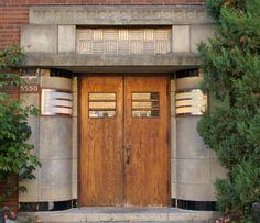 Art Deco Streamline Apartment Entrance   Art Deco   Wikipedia