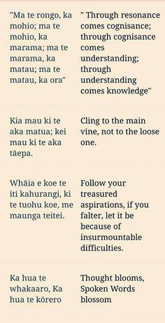 55 Best Maori proverb (Whakatauki) images   Learning ...
