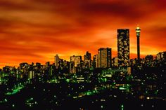 """Johannesburg, the """"city of gold"""" in South Africa offers more tourist attractions than anyone can imagine. Here are the best things to do in Johannesburg. Africa Destinations, Travel Destinations, Oh The Places You'll Go, Places To Travel, Places To Visit, Monte Kilimanjaro, Johannesburg Skyline, Johannesburg Africa, Johannesburg Airport"""