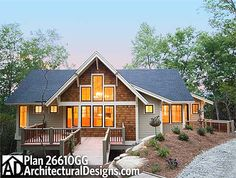 Plan 26708GG: Craftsman Cottage With Great Outdoor Spaces