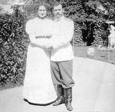 Alix and Nikolay II~