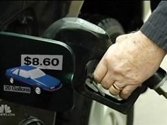 Gas prices at four-month high after 32 days of hikes at the pump (Photo: NBC Nightly News)