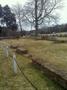 Remains of the Chancellorsville house...General Hooker was injured here during the battle