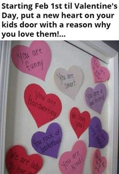 Valentines Day idea to do with kids