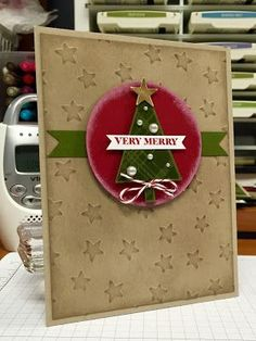 Bada-Bing! Paper-Crafting!: Lots of Joy, And Many More sets, Mossy Meadow & Cherry Cobbler Stampin Up!