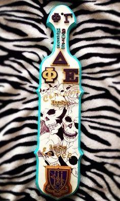Paddle with sugar skulls!!! :O I WANT ONE