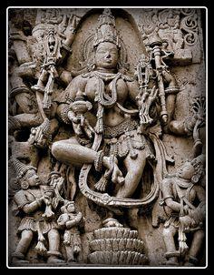 Sculpture, Halebidu.