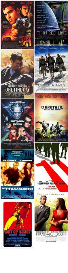 Movies starring George clooney