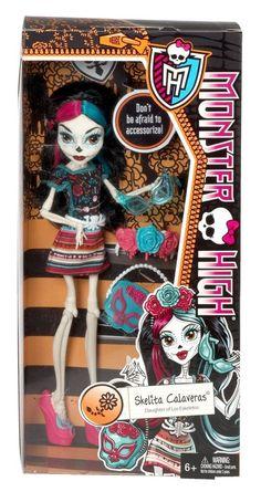 Monster High Scaritage SKELITA CALAVERAS Fashion Doll Skeleton Rare HTF Heritage #MonsterHigh #Scaritage