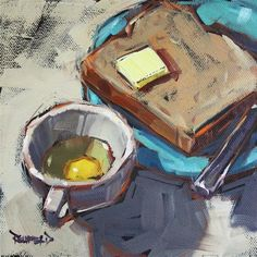 """Cooking Breakfast"" by Cathleen Rehfeld"