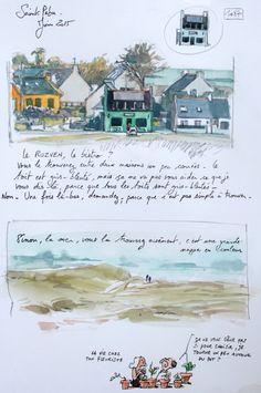 A Britain by the Contours / Saint-Pabu