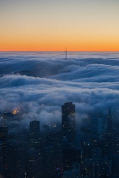 "Digital photography - ""San Francisco fog"" by ShinavaPhotography on Etsy"