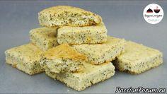 Лимонное песочное печенье с маком