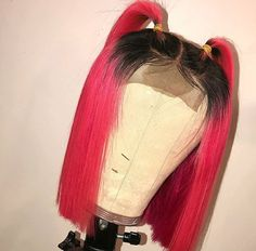 Ombre Red Human Hair Wigs Short Bob Wigs Lace Frontal Wig Color Lace Front Wigs With Baby Hair Remyblue Peruvian Remy Hair Frontal Hairstyles, Weave Hairstyles, Types Of Hair Color, Curly Hair Styles, Natural Hair Styles, Hair Laid, Hair Color Highlights, Human Hair Lace Wigs, Hair Type