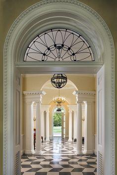 GEORGIAN HOUSE   Allan Greenberg Architect  and Cullman & Kravis Interiors