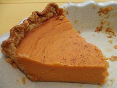 """Sage Trifle: Old Fashioned Southern Sweet Potato Pie - I really liked the delicate flavor of this. Other """"sweet potato pie"""" recipes were really just pumpkin subbing in sweet potato. Will make again."""