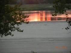 Missouri River, Bismarck ND Missouri River, North Dakota, Landscapes, Celestial, Sunset, Outdoor, Paisajes, Outdoors, Scenery