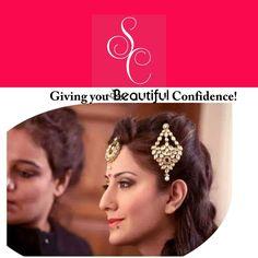Giving you beautiful confidence!  SHIKHA CHANDRA- #HAIR AND #MAKEUP