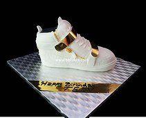 #White #Giuseppe #zanotti double strap high top #sneaker #cake #fashion #designer
