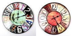 Znalezione obrazy dla zapytania zegary ścienne retro