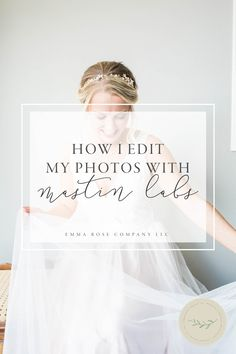 How I Edit My Photos With Mastin Labs Presets | Fuji 400 | Looks Like Film | Photography Tips | Fine Art Wedding Photography