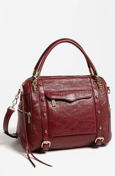 Fall arm candy: Rebecca Minkoff 'Cupid' Satchel in Port