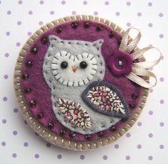 Owl Brooch £9.00