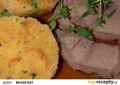 Kančí maso se šípkovou omáčkou recept - TopRecepty.cz Mashed Potatoes, Ethnic Recipes, Food, Whipped Potatoes, Essen, Yemek, Smash Potatoes, Meals