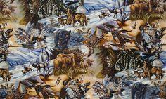 North American Wildlife by Jody Bergsma: Robert Kaufman Fabric Company.