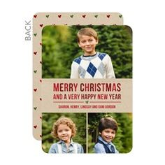 Humble Amour Photo Holiday Cards