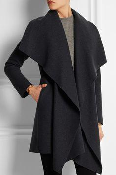 Harris Wharf London|Boiled virgin wool coat|NET-A-PORTER.COM