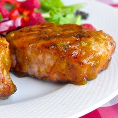 Add a totally tropical twist to your grilled chicken or pork with this amazing, flavorful mango barbecue sauce. A splash of rum adds even more bright flavor