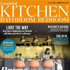 Great to have our kitchen hardware on the front page of a glossy mag . See for the 12 page feature on an amazing home transformation from Kitchen Hardware, Kitchen Handles, Built In Storage, Bedroom Lighting, Thing 1 Thing 2, Luxury Interior, Home Goods, Amazing, Household Items